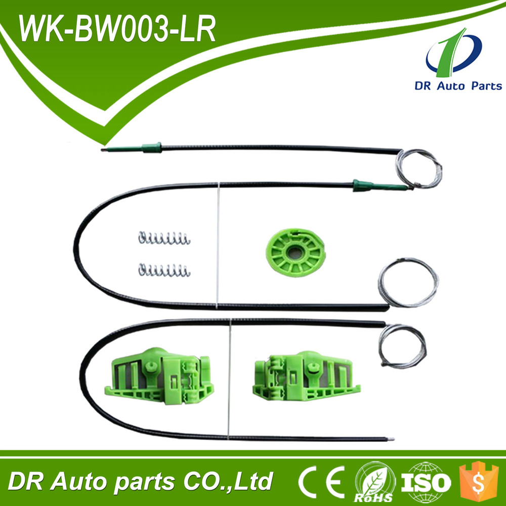 Good quality window regulator cables and clips for BMW 3 series