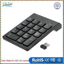 2.4G USB Numeric Keypad Wireless Number Pad 18 Keys Mini Digital Keyboard for iMac/MacBook Air/Pro Laptop PC Notebook Desktop