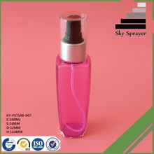 custom color Easy and simple to handle plastic bottle pump spray models