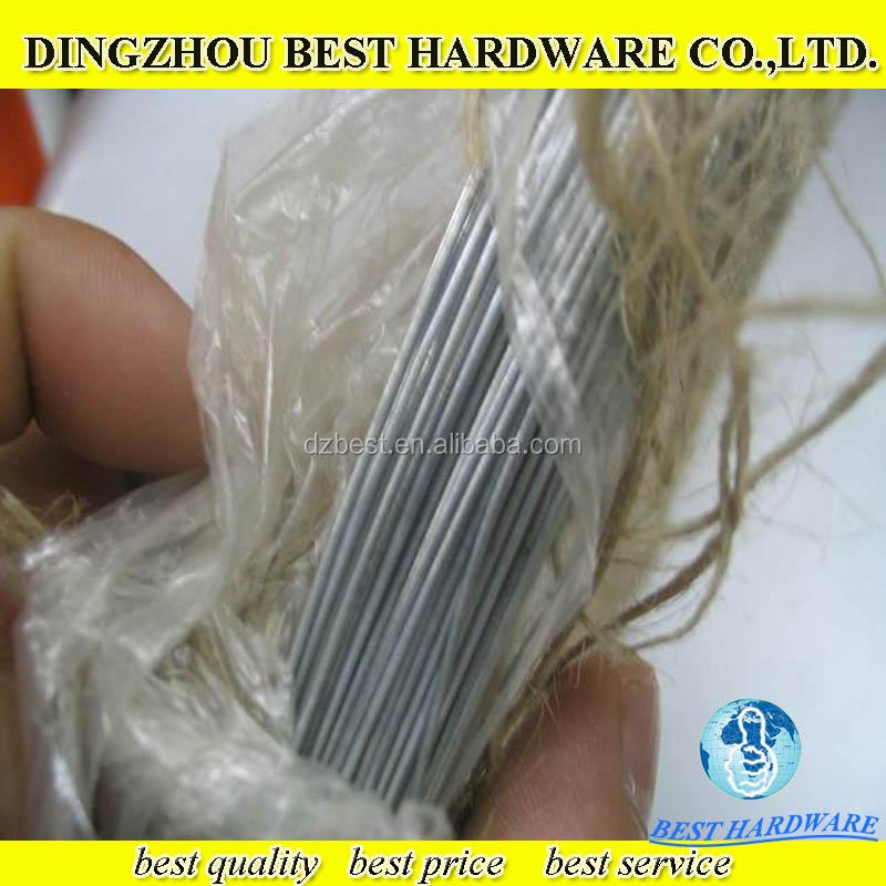 Bwg 21 electro galvanized iron binding iron wire for construction