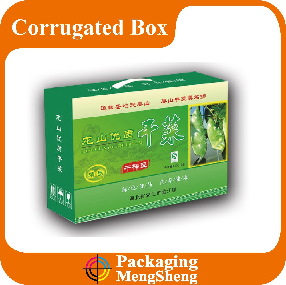 paper cardboard suitcase box with handle