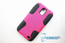 New MESH+SILICONE COMBO CASE for Samsung Galaxy S II Skyrocket I727 Mesh Combo Case
