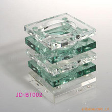 Crystal pen container with Pen Container for Office Stationery Sets Gifts