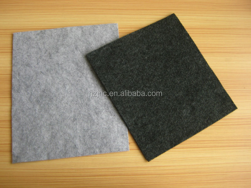 Polyester hard nonwoven needle punched speaker cover lining felt wholesale