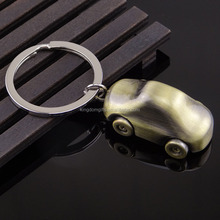 Hot sale and popular design car shaped metal key chain