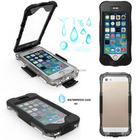 Shenzhen factory diving water proof case for iphone 5 se, different colors waterproof case for iphone 5 se