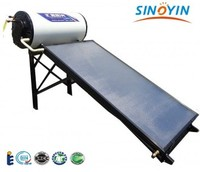 Flat plate solar water heater with flat plate colletor of selective coating manufacturer