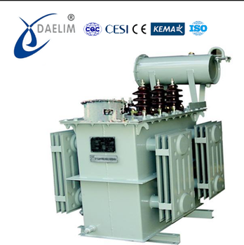 20kv 2500kva oltc oil immersed power transformer