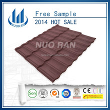 NUORAN grass stone-coated metal ecological resin blue glazed roof tile
