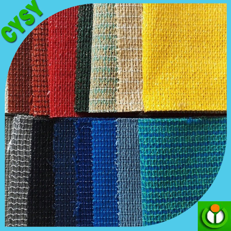 China export waterproof sun shade cloth pe sun shade net &sail