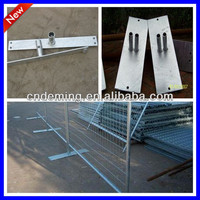 Canada high standard galvanized /powder coated temporary fence