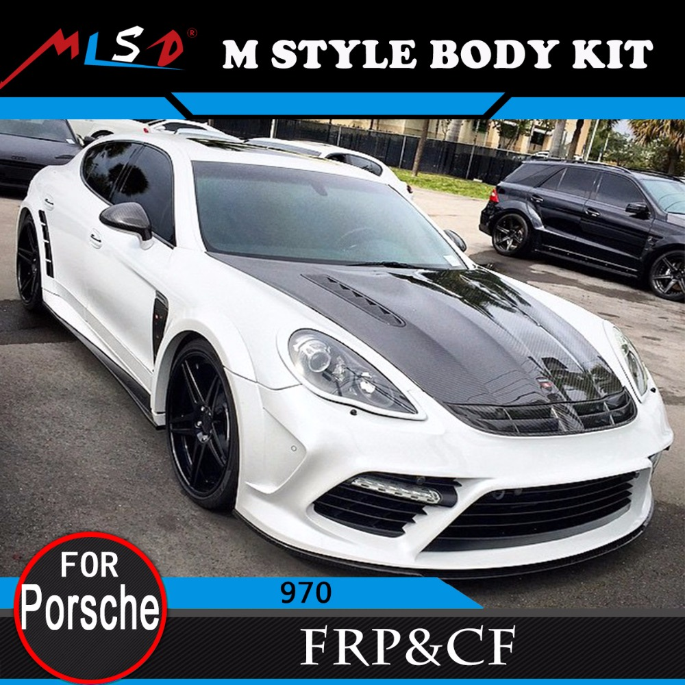 High Quality perfect fitment MS style body kits for Porsche panamera 970