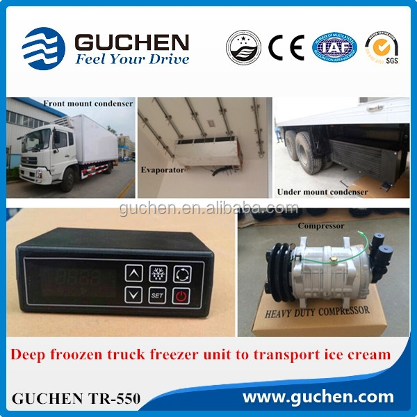 Deep Frozen Truck cooling unit for Refrigerator Trucks 3000W