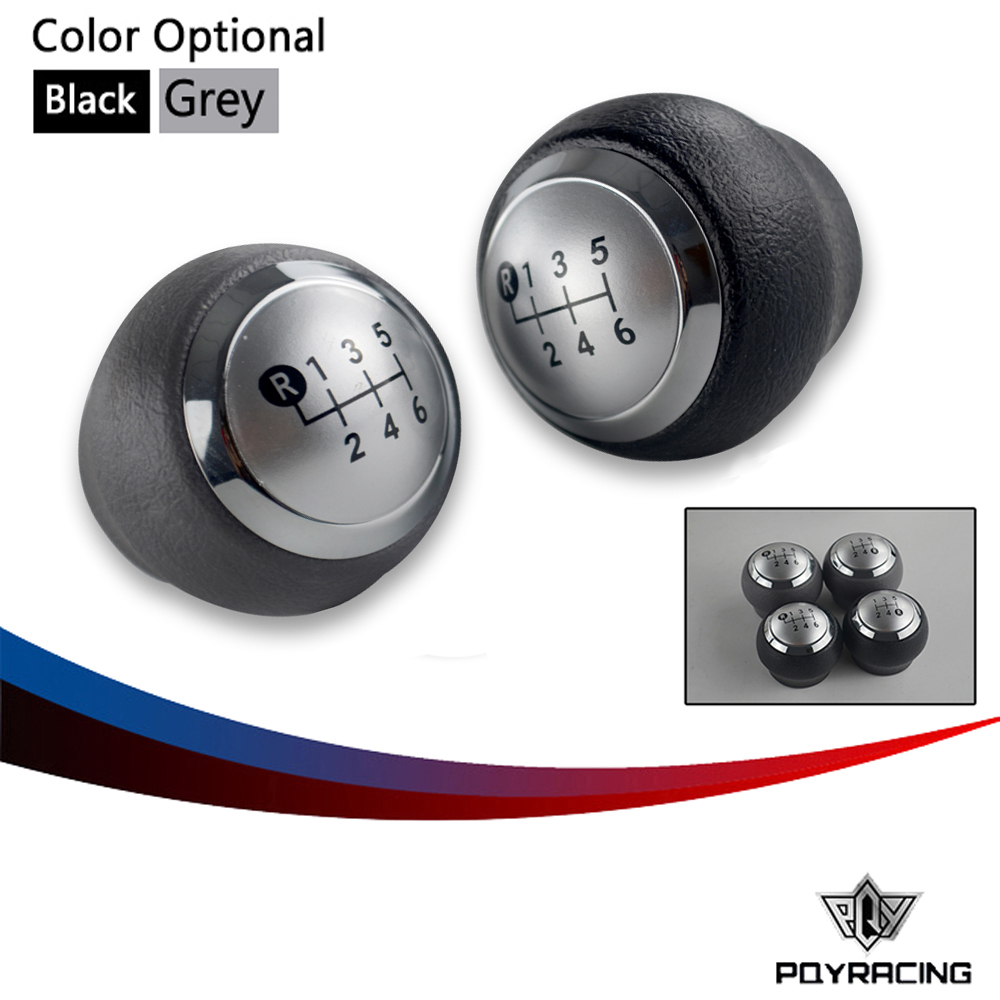 PQY- Cap Car Accessories 5 / 6 Speed Shifter Knob Gear Shift Knob for Toyota Corolla 1.8MT 2007 2008 2009 2010 2011 2012 2013