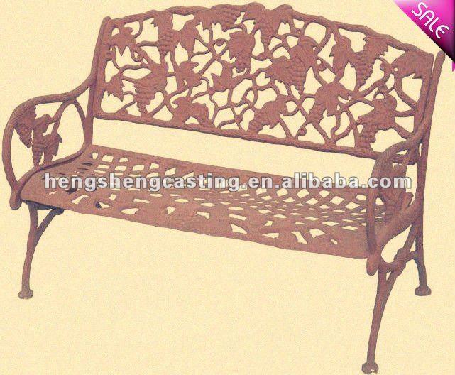 banco de jardim antigo : banco de jardim antigo:Banco de jardim ferro fundido outdooor-Cadeiras de estilo antigo-ID do