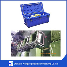 OEM service rotomolding plastic cooler body mould
