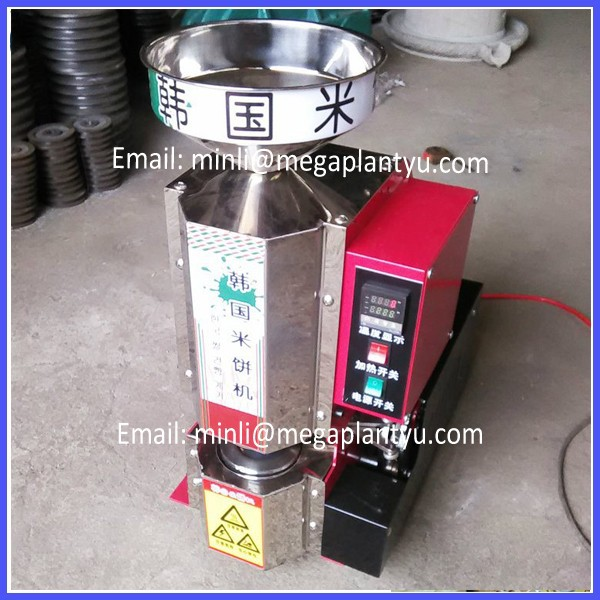 korea rice cake popping making machine for sale