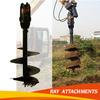 Garden digging machine Ground earth hole drilling rigs machine