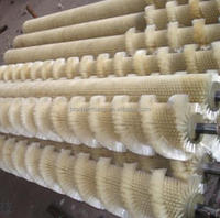 Anhui Qianshan Yuantan Factory Punched Glass Washing Brush Nylon Cylinder Roller