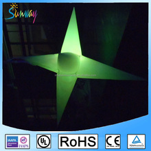 Inflatable LED Star With Changing Colors