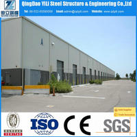 popular steel structure building of guangzhou warehouse service made in China