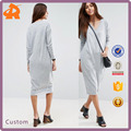 Factory Cheap Price Hot Style V-neck Long Sleeve Dress New High quality Ladies Dress