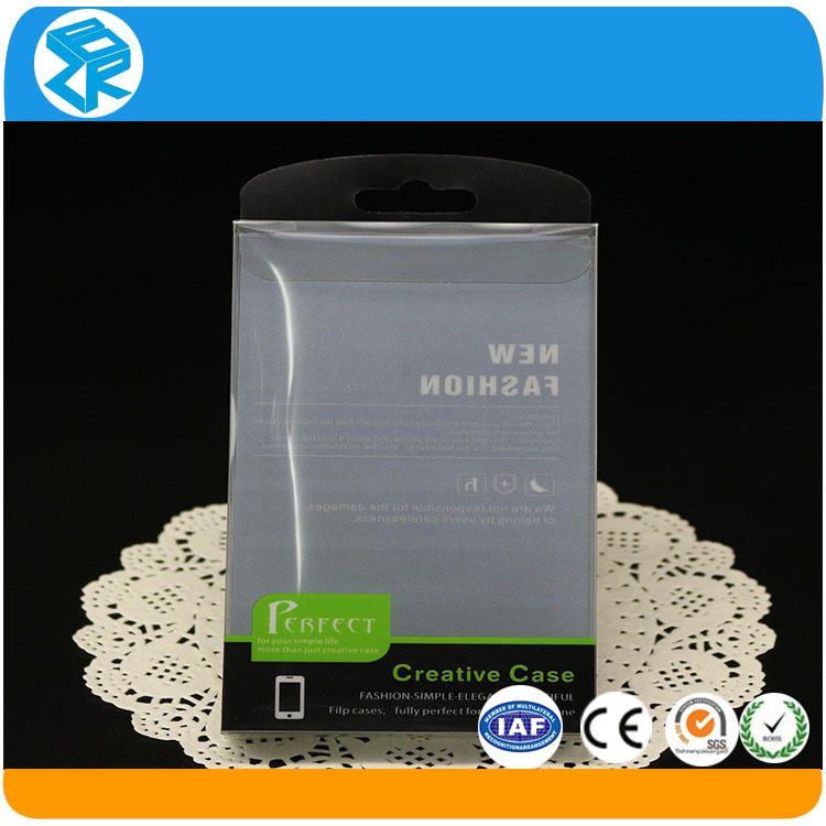 Hot Sale Unique gift plastic packaging box for cell phone 4/4s case