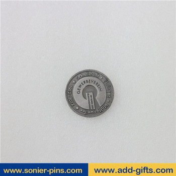 Sonier-Pins cheap custom old/ancient coins with high quality