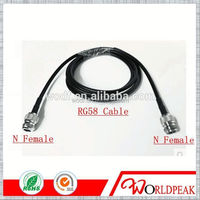 N Male Crimp to SMA Male Plug RG58 electric cable jumper