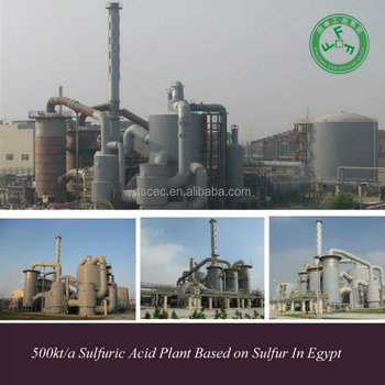 sulphuric acid plant equipment
