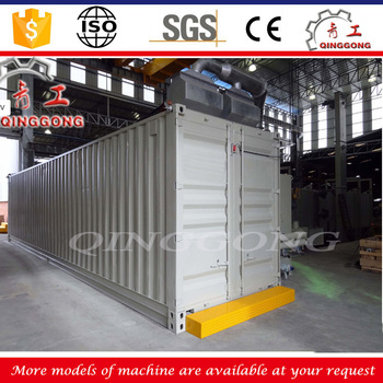 Mechanical recovery type sandblasting room boats air blasting booth/cabinet for sale