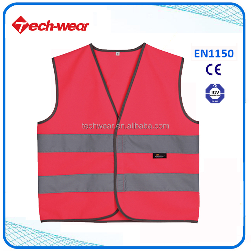 High Visibility children reflective wear waistcoat