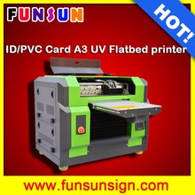 Desktop A3 UV flatbed printer pencil printer rigid board printing