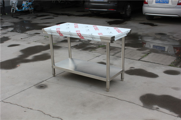 Kitchen Catering Equipment Stainless Steel Restaurant Prep Work Table