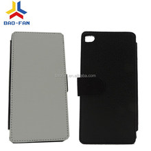 New Arrival Sublimation Leather Phone Case for Huawei Ascend P8 Sublimation Case Wallet Cover Card Insert Holder