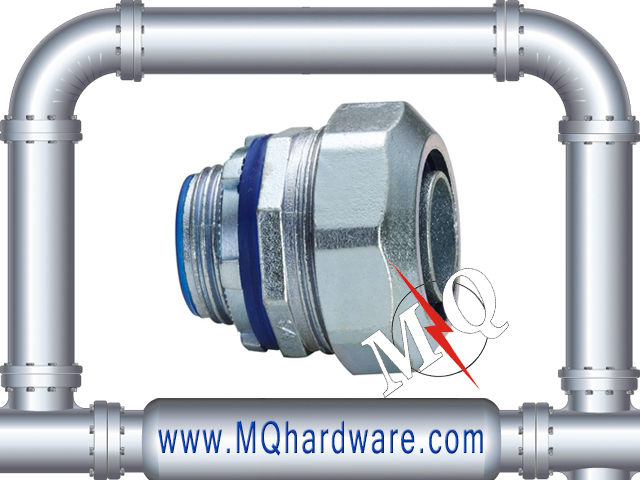 Zinc Die Cast Liquid Tight Flexible Connector for electrical conduit