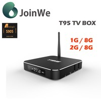 Popular and hot android smart tv box T95 Android 5.1 Support 4k T95 Amlogic S905
