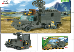plastic building blocks military toys for kids and adult