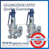 Closed Spring Loaded stainless steel full open pressure safety valve