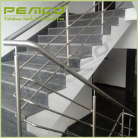 Durable nice quality 304 316 indoor & outdoor glass stainless steel elevator cheap handrail