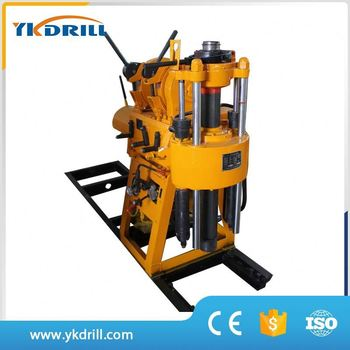 Water drilling rig machine for water well usage,overseas after-sales third-party support provided water drilling rig machine