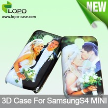Glossy/matte available blank 3D sublimation printing phone cases for SAMSUNG Galaxy S4 mini