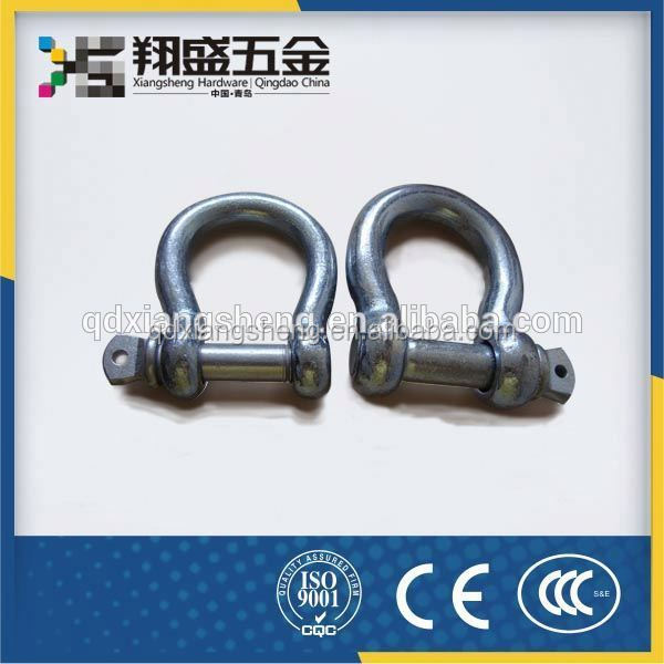Round Pin Anchor Shackle U.S. Type