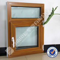India market LG Hausys style Window PVC Profile LG Window Frame/UPVC Window Door Frame and Sash Profile