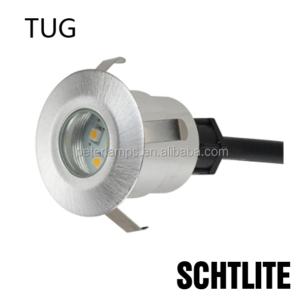 TUG round square 12v led deck inground light