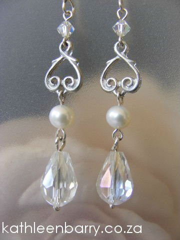 Sandra Chandelier Earrings