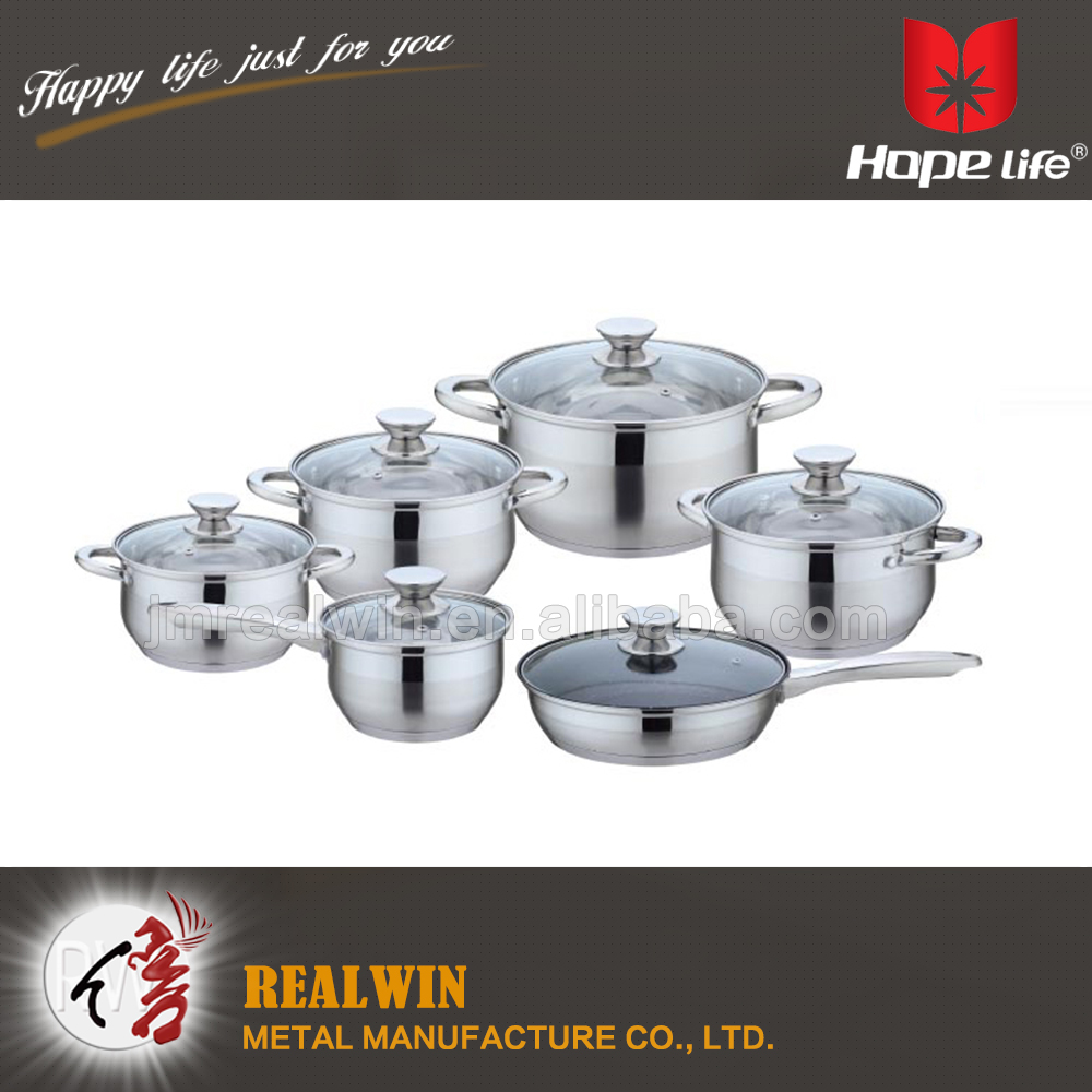 china wholesale market agents stainless steel fry pan with lid palm restaurant cookware , cast iron cookware