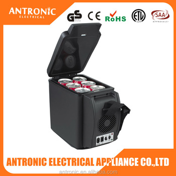 Antronic ATC-600B summer hot selling with top cup holder portable car cooler box 12v
