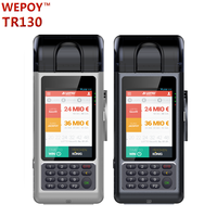 All in one android handheld parking ticket machine