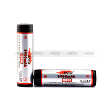 Efest Li-ion 18650 3400mAH Rechargeable battery 3.7v 3400mAh High capacity Efest 3400mAH battery from Efest Wholesale prices